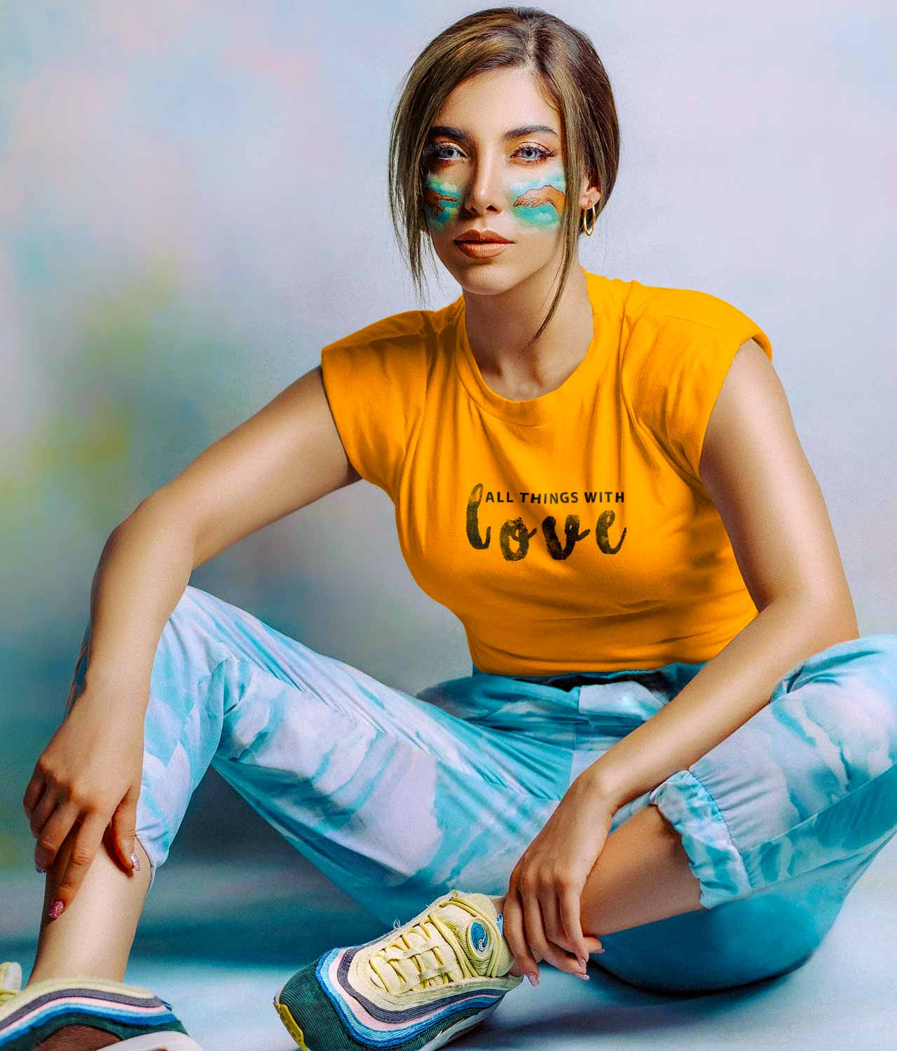 Buy Graphic T shirts For Women online In India RagaFab